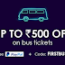 RailYatri Bus Offer - Get Flat 175₹ Off + Additional 50% Cashback via PayPal