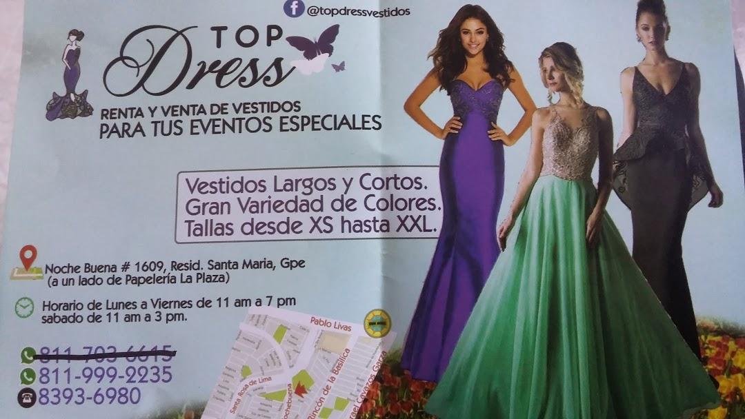 Top Dress Renta Y Venta De Vestidos Tienda De Ropa En
