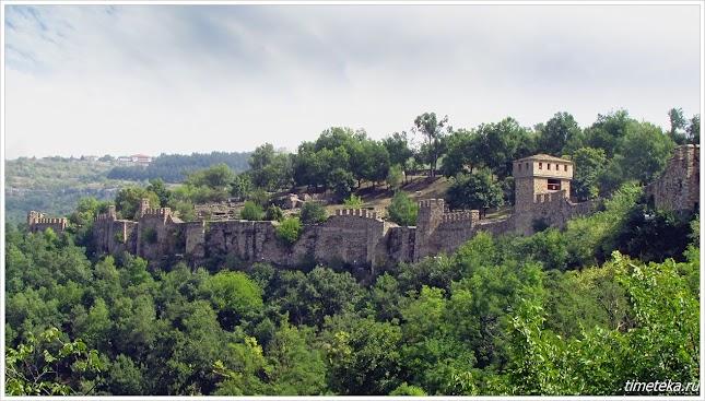 Крепостная стена. Велико Тырново. Болгария.