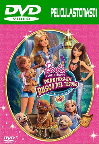 Barbie y sus hermanas: Perritos en busca del tesoro (2015) DVDRip