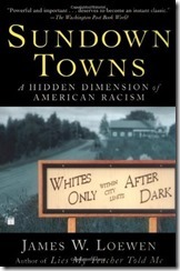 sundown towns