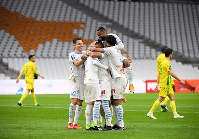 Ligue 1 : L'Olympique de Marseille retrouve le podium