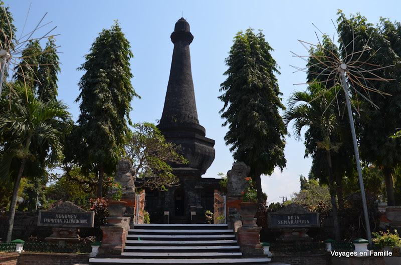 Pupuan monument - semarapura
