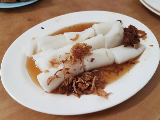 Chee cheong fun from Aik Hoe in Georgetown Penang