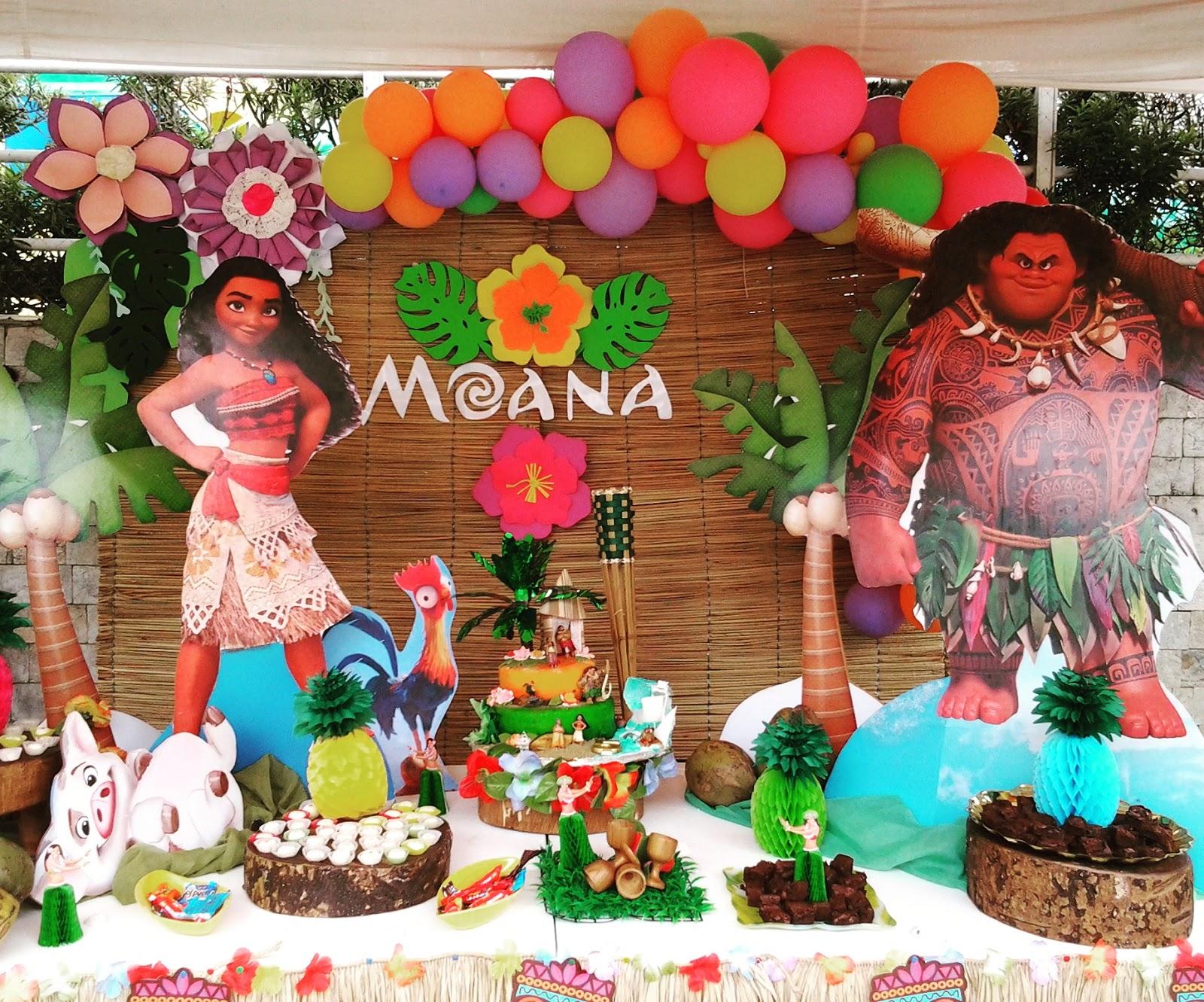 Pkelandia decoraci n de moana - Decoracion de una ...