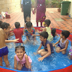 Water Play in Sr.Kg