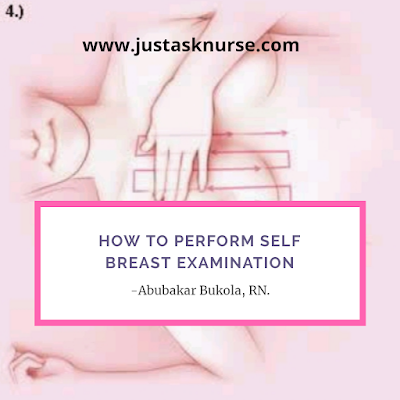 Self breast examination
