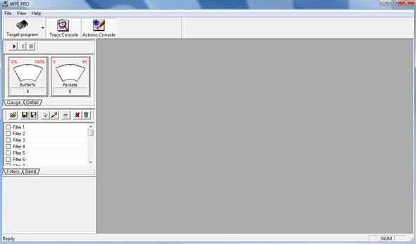 Edita os pacotes TCP/IP recebidos e enviados pelo cliente.
