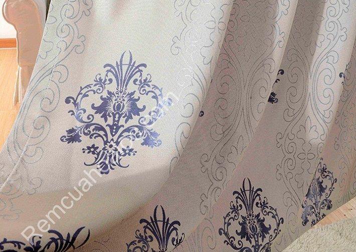 Rèm cửa đẹp tại hà nội hoa vector châu âu 6