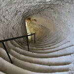 Château : escalier dérobé