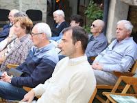 4 A közönség soraiban Pálinkás Tibor, a Honti Múzeum és Simonyi Lajos Galéria vezetője, valamint az Ipolyság küldöttsége.jpg