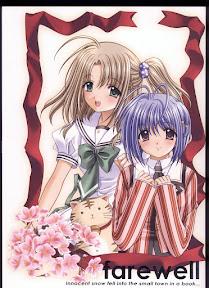 Sore wa Maichiru Sakura no Youni Sengashuu Vol.2 「farewell -Innocent snow fell into the small town in a book…」