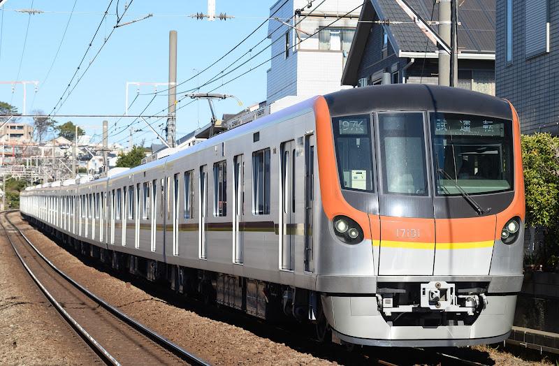 210110 東白楽を走る東京メトロ17000系試運転