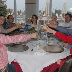 Cata de vinos en VALDEPALACIOS, - Marzo 2010-