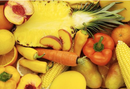 yellow fruits & veggies