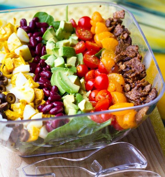 овощные салаты для похудения рецепты видео
