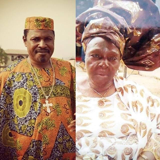 Breaking News : Nollywood Actor Saidi Balogun Loses Mom