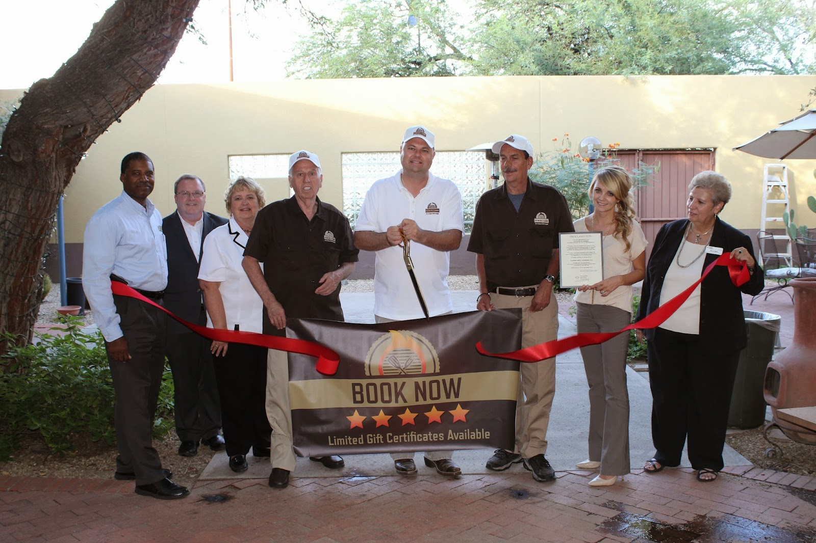 Tucson Grill Cleaning LLC, winners of the SAHBA Home Show's Most Innovative New Product, are proud to announce one full year of successful business!  Thanks to our residential and commercial clients' overwhelming response, we are humbly projecting a prosperous end of 2014, and great 2015.  Thank you Tucson!