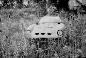 Abandoned Ferrari 250 GTO