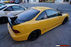 Yellow Teg with Carbon trunk and hood