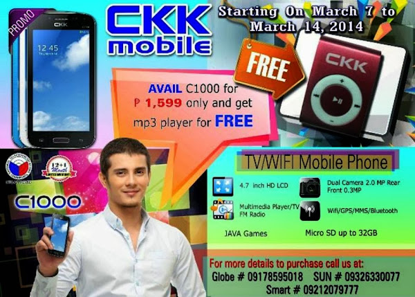 Image of CKK Mobile C1000 Promo