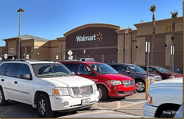 Walmart in Yuma