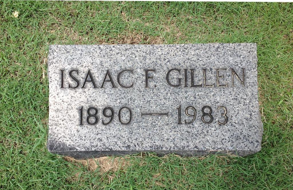 [GILLEN_Isaac+F_1890-1983_Headstone_RomeProctorvilleCem_OH%5B5%5D]