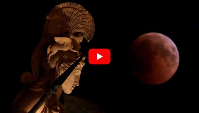 O Eclipse da Lua e o Espetáculo de Marte, Júpiter, Saturno e Vênus