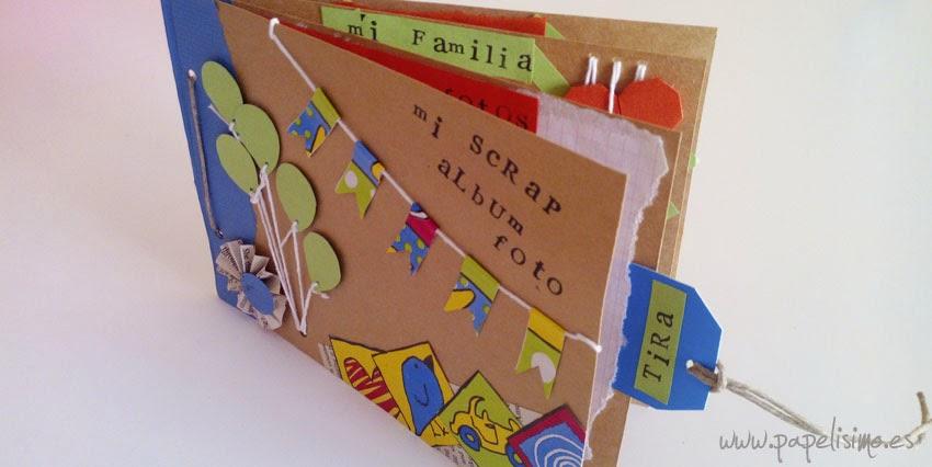 Scrapbooking para niños - PAPELISIMO