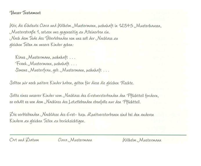 Provinzial Geschäftsstelle Piechel Vom Testament Bis Zur