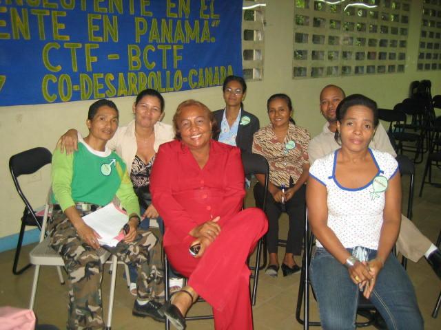 Provincia de Panamá - Aída Araúz y participantes