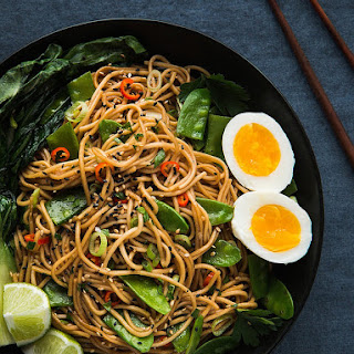 Asian Inspired Chili Garlic Noodles