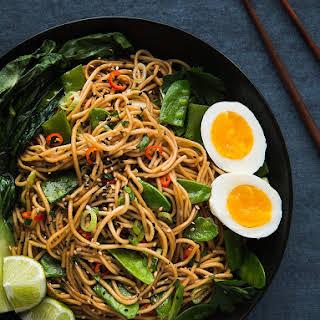 Thai Garlic Noodles Recipes.