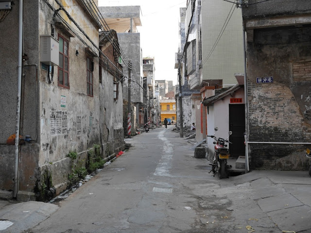 alley south of Jiaoqiao New Road (滘桥新路) in Yangjiang