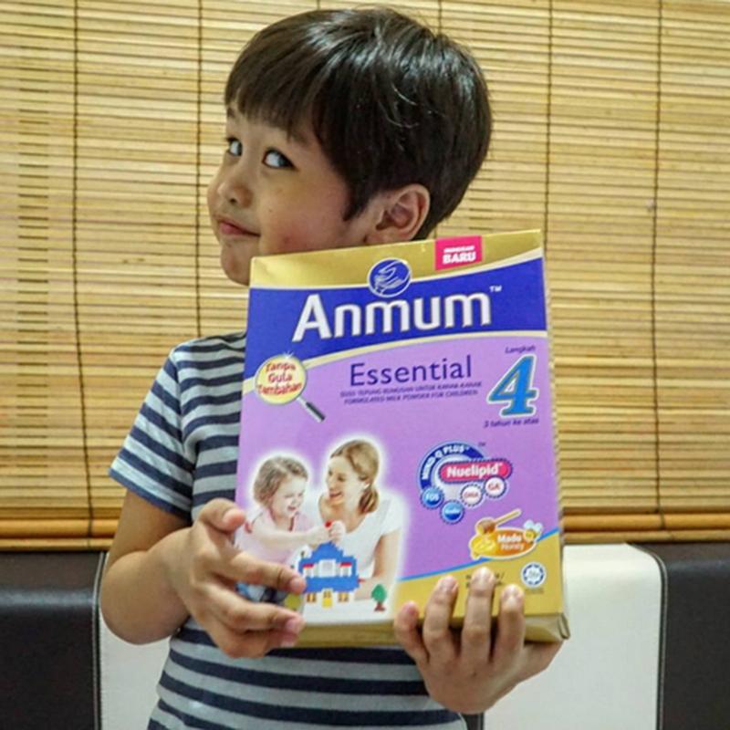 ANMUM ESSENTIAL tanpa gula tambahan untuk si kecil kita..