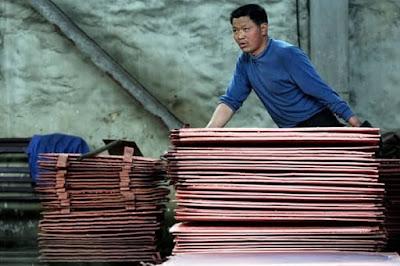 """China baraja fuertes medidas contra el cobre: """"Los precios pueden bajar abruptamente"""""""
