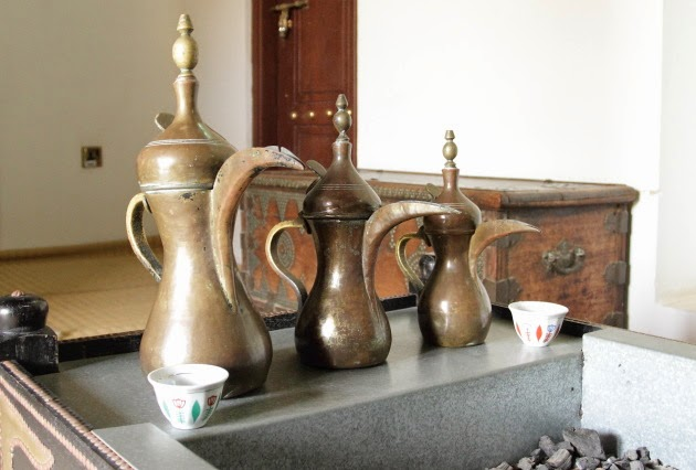 Old Kahwa Jars at Al Ain's Sheikh Zayed Palace Museum