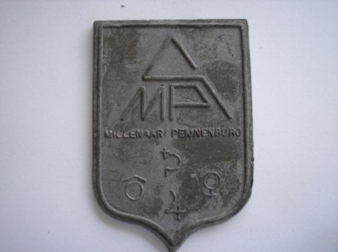 Naam: Millenaar/PeijnenburgPlaats: AmsterdamJaartal: 1980