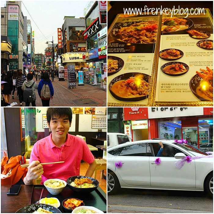 Hyehwa Shopping Area, Dinner Time, Wedding Car