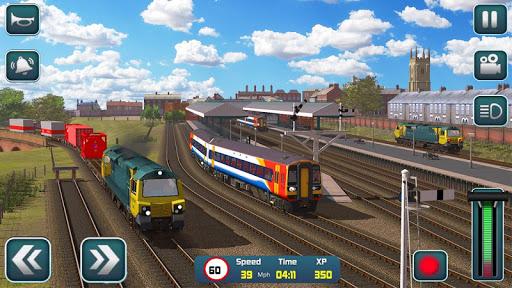 Euro Train Driver Sim 2020: 3D Train Station Games 1.4 screenshots 12