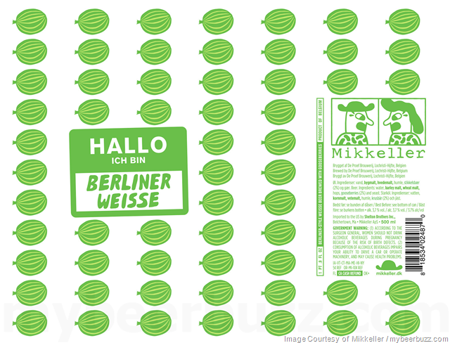 Mikkeller Hallo Ich Bin Berliner Weisse Blood Orange & Gooseberries