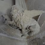 Château de Vincennes : donjon, salle d'étude, saint Marc