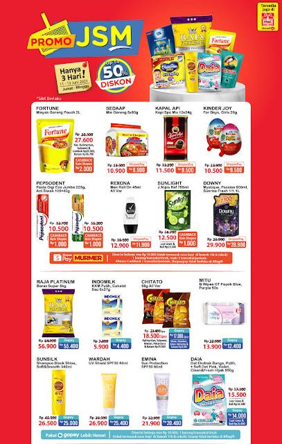 Promo Alfamart JSM Weekend Periode 11-13 Juni 2021