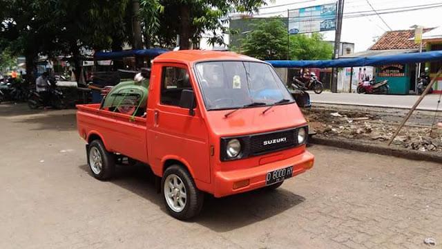 LAPAK MOBIL JADUL : Jual Pickup Suzuki Truntung Legendaris - TANGSEL