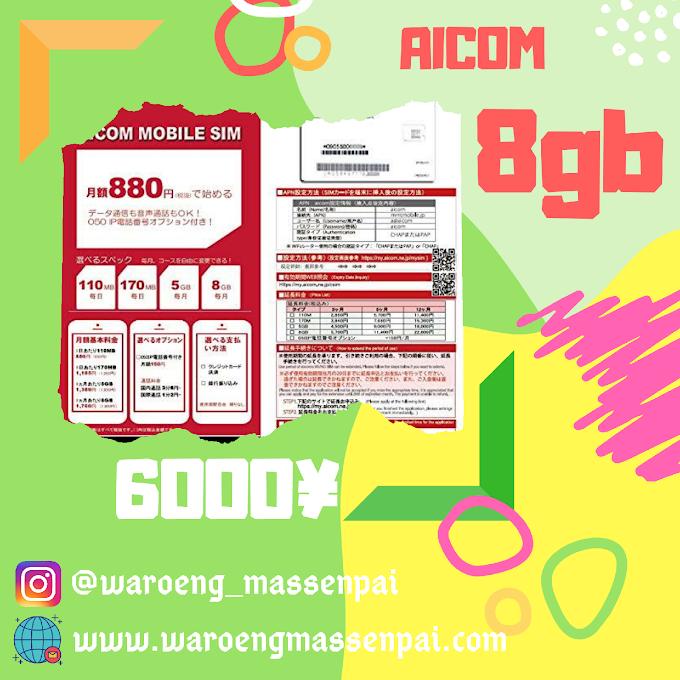 DOCOMO AICOM 8GB