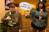 Comrade Lucky, and a dubious officer...
