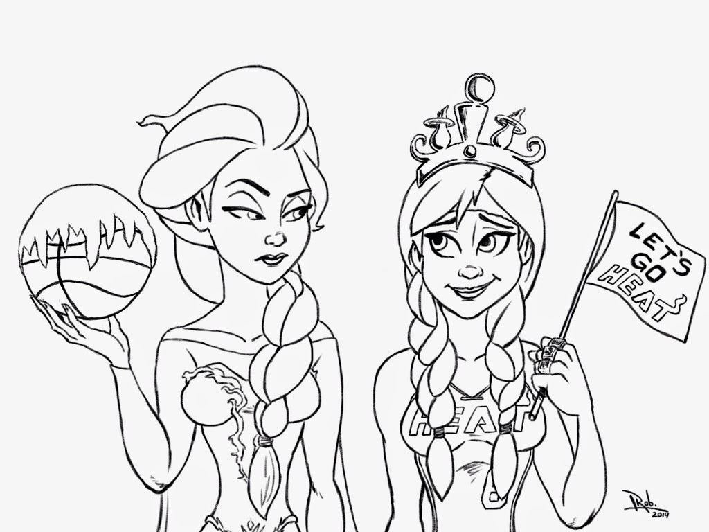 Frozen Coloring Pages - Learny Kids