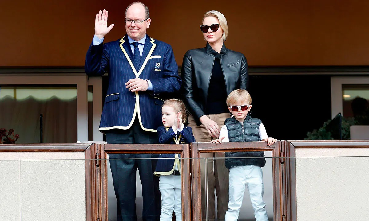 Princess Charlene shares Incredibly Sweet Picture of Husband and Children on safari