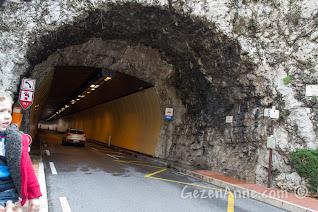 Monako'daki tüneller