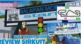 ID Sirkuit Balap Mobil di Sakura School Simulator Dapatkan Disini